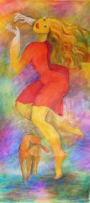 Alina Witwitzka - Painting - Ease