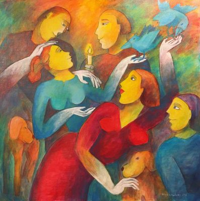 Alina Witwitzka - Painting - Guidance